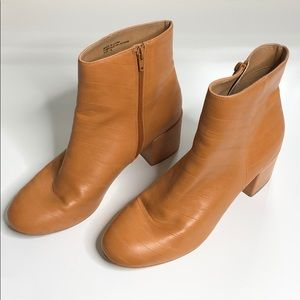UO Textured Ankle Booties